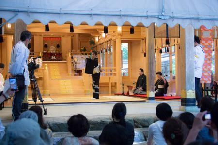 今年の貴船神社水祭りは、良いお天気でした!