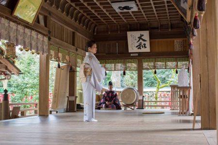 大和神社奉納舞