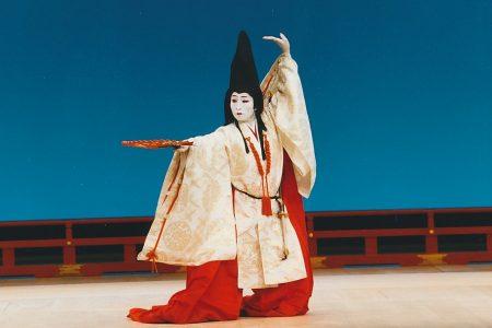 吉野山蔵王堂奉納舞 『島の千歳』