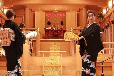 今年も貴船神社・水祭りに 地歌舞の奉納をさせて戴きました。
