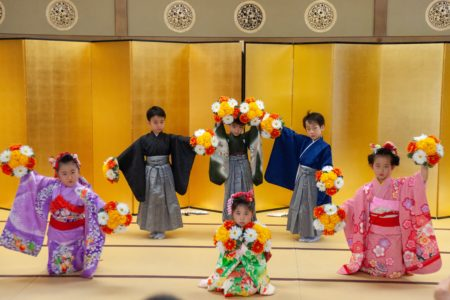 西大寺幼稚園和のおけいこ・日本舞踊発表会