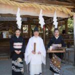 大和神社奉納舞、今年も無事納めさせていただきました。