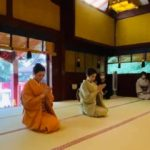 金王八幡宮にて無事舞の奉納をさせていただきました。