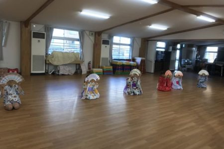 西大寺幼稚園和のおけいこ・日本舞踊初稽古でした!